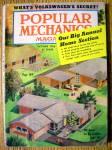 Popular Mechanics October 1956 Big Annual Home Section