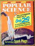 Popular Science June 1960 Truth About Spark Plugs