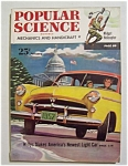 Popular Science Magazine-january 1952-willys Light Car