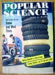 Popular Science October 1957 Snow & Mud Tires