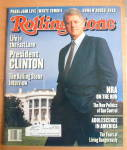 Rolling Stone Magazine December 9, 1993 Bill Clinton