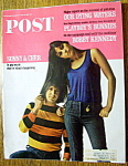 Sat Evening Post Magazine-april 23, 1966-sonny & Cher