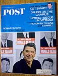 Saturday Evening Post Magazine-june 4, 1966-ron Reagan