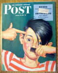 Sat Eve Post Magazine-january 23, 1943-kid As Hitler