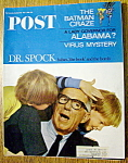 Saturday Evening Post Magazine-may 7, 1966-dr. Spock