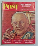 Saturday Evening Post Magazine - October 6, 1962