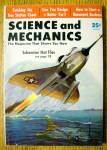 Science & Mechanics August 1956 Submarine That Flies
