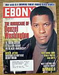 Ebony Magazine-april 2000-hurricane Denzel Washington