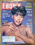 Ebony Magazine - September 1994 - Anita Baker