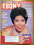 Ebony Magazine-april 1995-aretha Franklin
