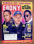 Ebony Magazine - January 2001 - Ceo's Of Hip Hop