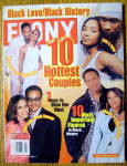 Ebony Magazine-february 2002-10 Hottest Couples