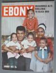 Ebony Magazine January 1975 Muhammad Ali