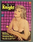 Sir Knight Magazine-1960-mermaid Strips In A Glass