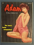 Adam Magazine-1958-the Man's Home Companion