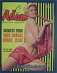 Adam Annual Special Edition Magazine-1960-candy Barr