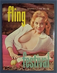 Fling Magazine-1960 Fall Edition-nude On A Motorcycle