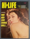 Hi-life Magazine-november 1960-hi-life Pin Up