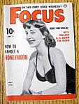 Focus Magazine July 8, 1953 Judy Hall