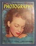 Vintage Popular Photography Magazine - January 1951