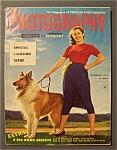 Vintage Popular Photography Magazine - October 1953