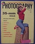 Popular Photography Magazine - August 1955