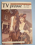 Tv Prevue - March 16-22, 1958 - Amanda Blake