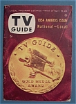 Tv Guide - April 16-22, 1954 - Awards Issue