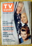 Tv Guide-june 22-28, 1963-allen Funt Of Candid Camera