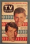 Tv Guide - June 5-11, 1953 - Jerry Lewis & Dean Martin