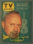 Tv Guide - February 5-11, 1954 - Jack Benny