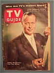 Tv Guide - Jan 29-feb 4, 1954 - Robert Montgomery