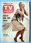 Tv Guide - Dec 31-jan 6, 1960 - Dorothy Provine