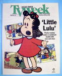Tv Week October 22-28, 1995 Little Lulu-chicago Tribune