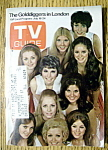Tv Guide - July 18-24, 1970 - Golddiggers In London
