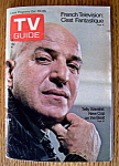 Tv Guide - October 20-26, 1973 - Telly Savalas