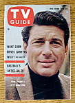 Tv Guide - April 9-15, 1960 - Efrem Zimbalist Jr