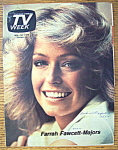 Tv Week May 2-8, 1976 Farrah Fawcett Majors