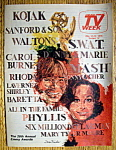 Tv Week May 16-22, 1976 28th Annual Emmy Awards