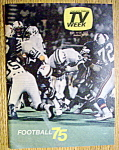 Tv Week September 14-20, 1975 Football 75