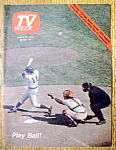 Tv Week April 6-12, 1975 Play Ball