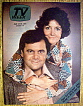 Tv Week April 13-19, 1975 Paul Sorvino & Mitzi Hoag