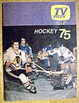 Tv Week October 5-11, 1975 Hockey 75