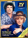 Tv Week-april 26-may 2, 1981-tom Wopat/john Schneider