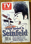 Tv Guide-may 9-15, 1998-farewell To Seinfeld