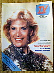 Tv Week-march 14-20, 1982-dinah Shore