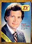 Tv Week-february 28-march 6, 1982-david Letterman