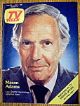 Tv Week-june 28-july 4, 1981-mason Adams