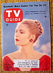 Tv Guide-april 14-20, 1956-grace Kelly