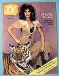 Tv Week October 5-11, 1980 Priscilla Presley & Tiger
